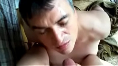 Gay Blowjob Rimjob Doggie Style Fuck Facial and Cumeating