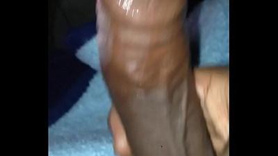 Horny masturbation.