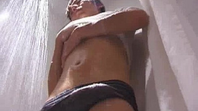 Hot Japanese guy and his nice long cock