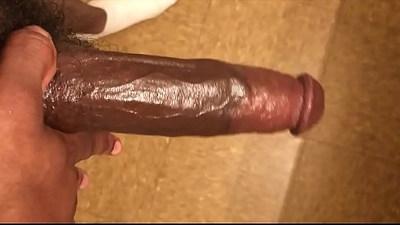 Fat Oliy Black Cock