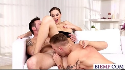 Hot wife shares her lover with hubby