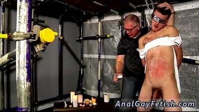 Bondage tape boy gay Horny master Sebastian is back to show his