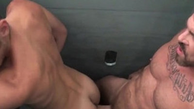 Homosexual porn actors featured in free XXX