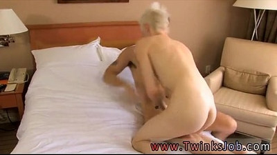 Gay twink and old Young Timo Garrett clearly has a thing for older