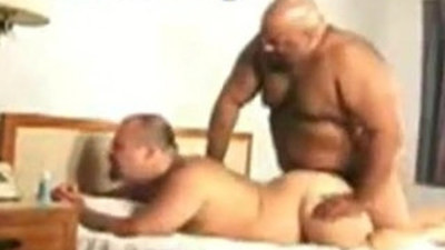 Black and White Amateur Bears Sucking, Fucking, And Blowing a Huge Load