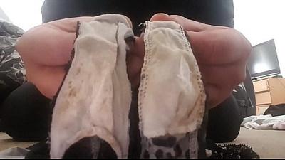 My wifes panties
