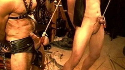 Five man sensual CBT, BDSM orgy, pt