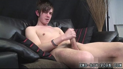 Young boys emo video Hot scouse dude Zackarry Starr wanks off in his