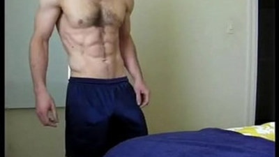Toned Slightly Hairy Chest