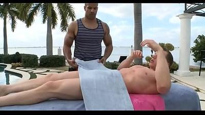 Gripping anal worship