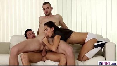 Bisex college students Shrima Malati, Nick Gill and Rami Mikki