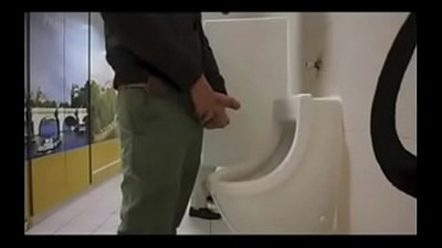 amazing guy cruising in public toilet