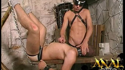 slave boy sucks cock